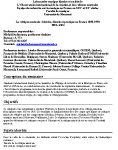 « La critique musicale. Histoire, théorie et pratique en France, 1850-1950 » (MUL 6254)